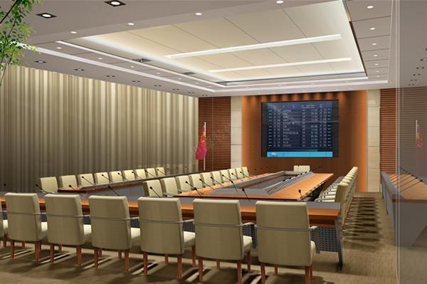 政府及办公会议室装修效果图